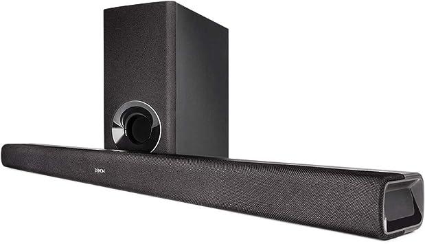 Denon DHT-S316 Altavoz soundbar Negro Inalámbrico y alámbrico - Barra de Sonido (DTS,Dolby Digital, Inalámbrico y alámbrico, A2DP, 0,3 W, 900 mm, 82 mm)