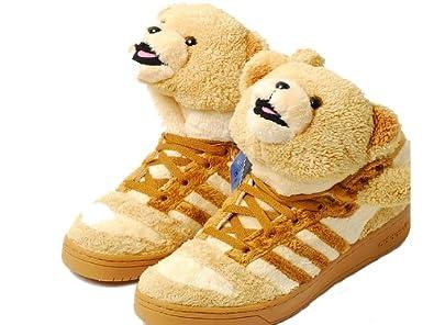 JEREMY SCOTT×ADIDAS (ジェレミースコット×アディダス)クマぬいぐるみ靴/シューズ コラボ