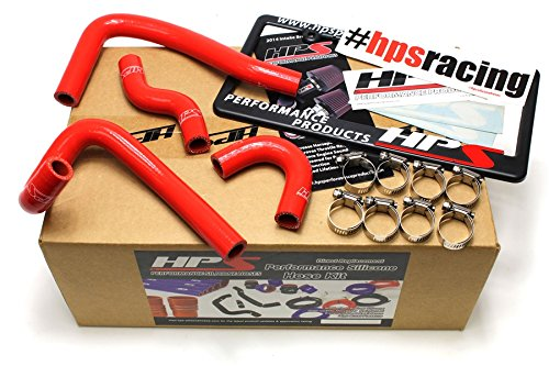 HPS 57-1396-RED Red Silicone Heater Hose Kit (Coolant)