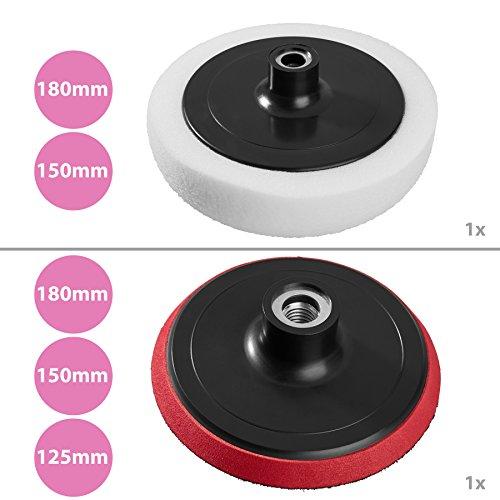 durable modeling TecTake 400167Fourniture de polissage pour outil rotatif–Fournitures de polissage pour outil rotatif