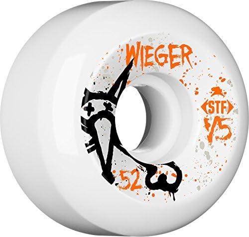 Bones Wheels Wieger Vato OP V5 52-Millimeter Skateboard Wheels