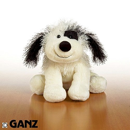- Webkinz Black and White Cheeky Dog with Trading Cards
