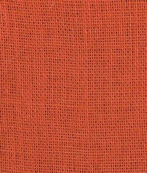Burnt Sienna Burlap Fabric - by the Yard