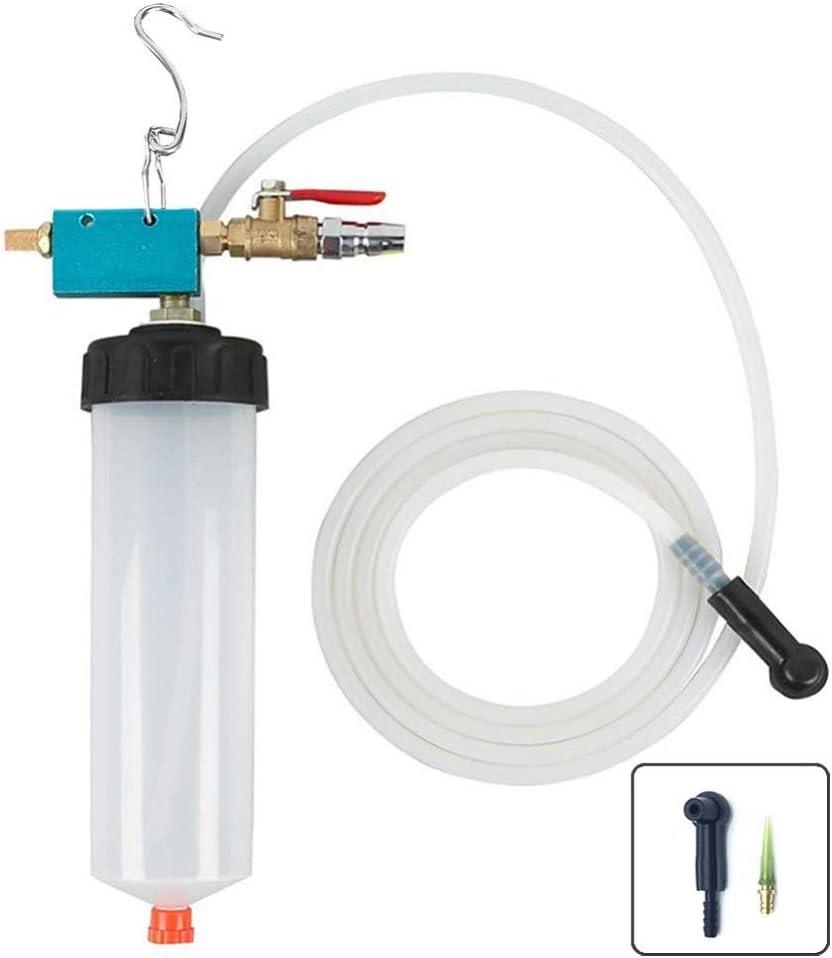 DEDC Universal Auto Car Brake Fluid Oil Change Replacement Tool Brake Fluid Drained Bleeder Tool Equipment Kit Fluid Extractor
