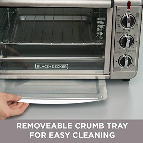 Black & Decker Toaster Oven - Convection, Bake, Warm -