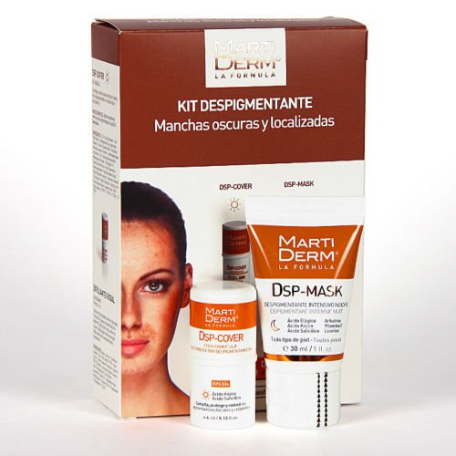 MARTIDERM DEPIGMENTING KIT FOR DARK AND LOCATED SPOTS X Mas.