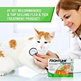 Frontline Plus Flea and Tick Control for Cats and Kittens , 8 weeks and Older. 3 MO. SUPPLY