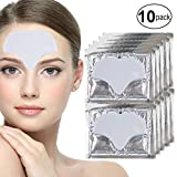 Anti Aging Treatments Set / Kit of 10pcs Forehead Milk White Collagen Gel