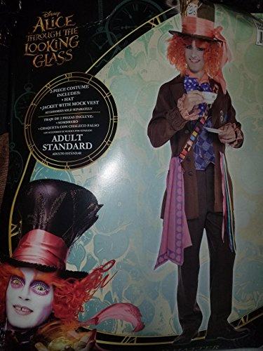 Mad Hatter Costume Adult Standard (Johnny Depp Steampunk)