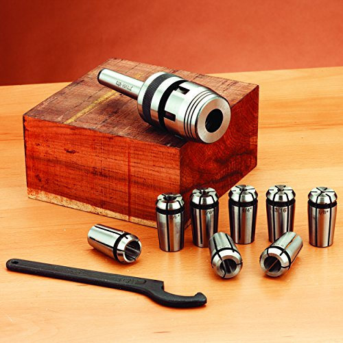Turners Collet Chuck Set #2 MT (Morse Taper Collet)