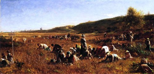 - Eastman Johnson The Cranberry Harvest, Island of Nantucket - 15.1