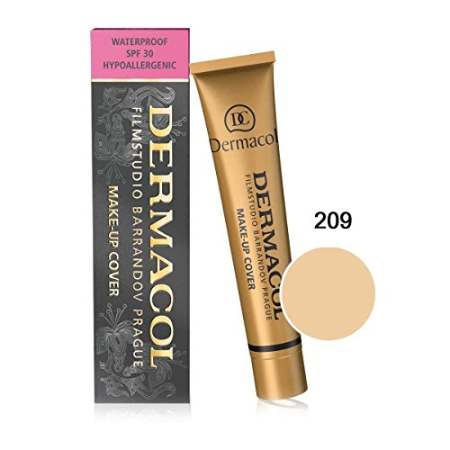 Dermacol Make-up Cover #209 (foundation for perfect wedding/party makeup) ()