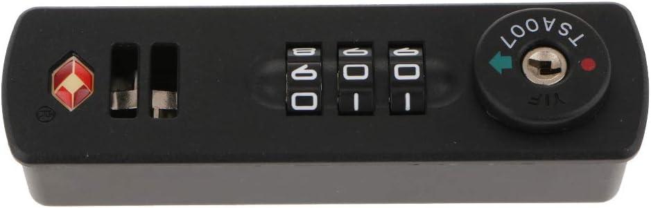 Zur Sicherheitskontrolle Im Zollbereich 3 Stelliges Kombinationsschloss Reisegep/ä Kofferschloss TSA Zugelassen TSA007