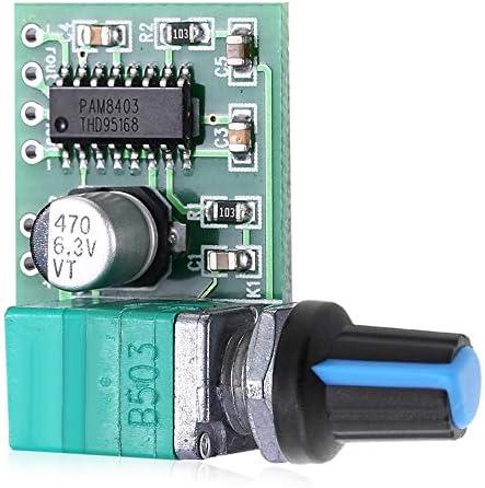 PAM8403 5V Power Audio Verstärker-Brett 2-Kanal-3W W Lautstärkeregler / USB Power Gaodpz