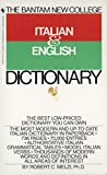 img - for The Bantam New College Italian & English Dictionary book / textbook / text book