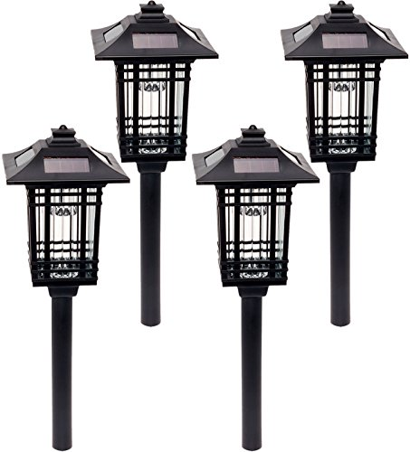 4 Pack GreenLighting Sydney Path Lights - Solar Powered LED Pathway - Universal Sydney Store