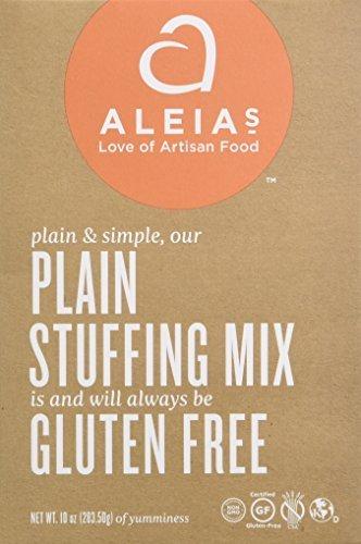 Aleia's Gluten Free Foods Gluten Free Plain Stuffing Mix, 10 Oz, 10 Ounce by Aleia's Gluten Free Foods