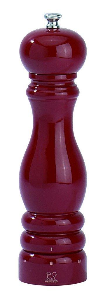 Peugeot 23614 Paris U'Select 9-Inch Salt Mill, Red Lacquer