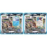 Pokemon TCG: Sun and Moon (SM5) Ultra Prism Both 3-Pack Blister's Featuring Vulpix and Porygon-Z