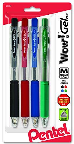 Pentel Colors Retractable Assorted K437CRBP4M1