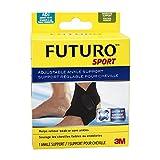 Futuro Sport Adjustable Ankle Support, One-Size, Black, (09037ENFR)