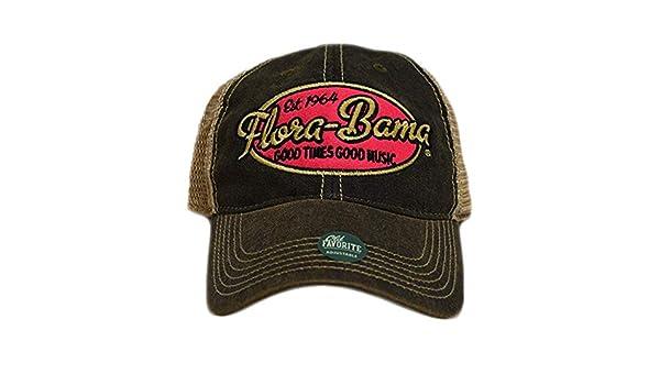 273dadc2cdb53a Flora-Bama Oval Logo Cap #1 Seller at Amazon Men's Clothing store: