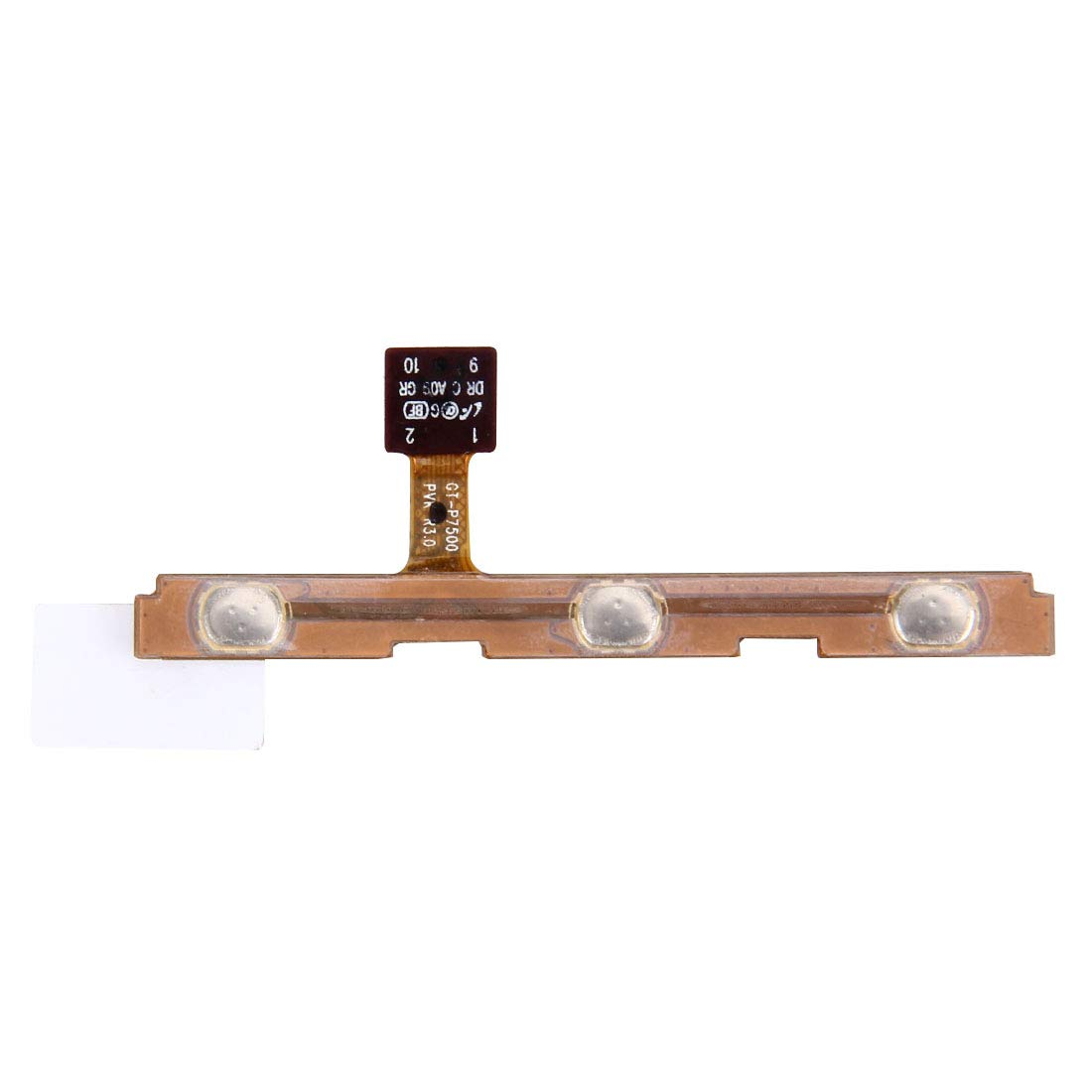 YUANLI SKP Repair&Spare Part Power Button and Volume Button Flex Cable for Galaxy Tab 10.1 / P7500 / P7510