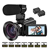 Best Video Camera 4 Ks - Kenuo 4K Camcorder, 48MP Portable Ultra-HD 60FPS WiFi Review