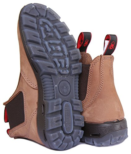 e473c5409b3 REDBACK UBCH The Easy Escape Crazy Horse Brown Leather Boots 11 US / 10 AU