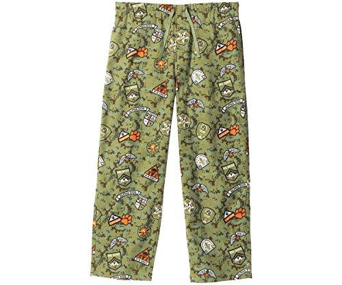 Big Dog Lounge Pants (Big Dogs Alpha Dog Flannel Lounge Pant XL Green)