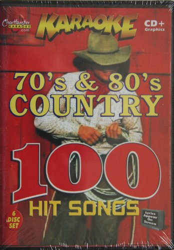 Karaoke Music CDG: Chartbuster CDG Essential Plus ESP452R - 70's & 80's Country