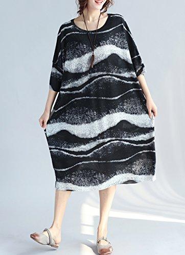 ELLAZHU - Vestido - para mujer GA943