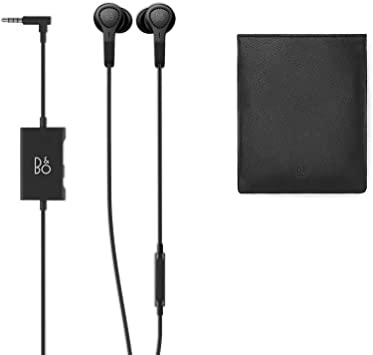 Beoplay E4 de Bang & Olufsen - Auriculares con cancelación de ruido activa avanzada + Funda de piel para Beoplay H5, E4 y H3, color negro: Amazon.es: Electrónica