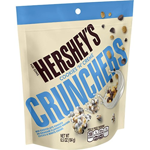(Hershey's Cookies 'N Creme Crunchers 6.5 oz. (Pack of 2) )