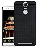 Jkobi 360* Protection Premium Dotted Designed Soft Rubberised Back Case Cover For Lenovo Vibe K5 Note -Black