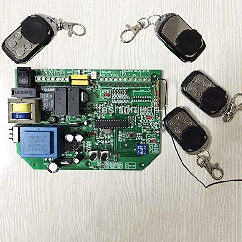 (FidgetFidget Hotsale AC Sliding gate Opener Control Board Learning Code+ 4PCS Remote Controls 220V~240V)