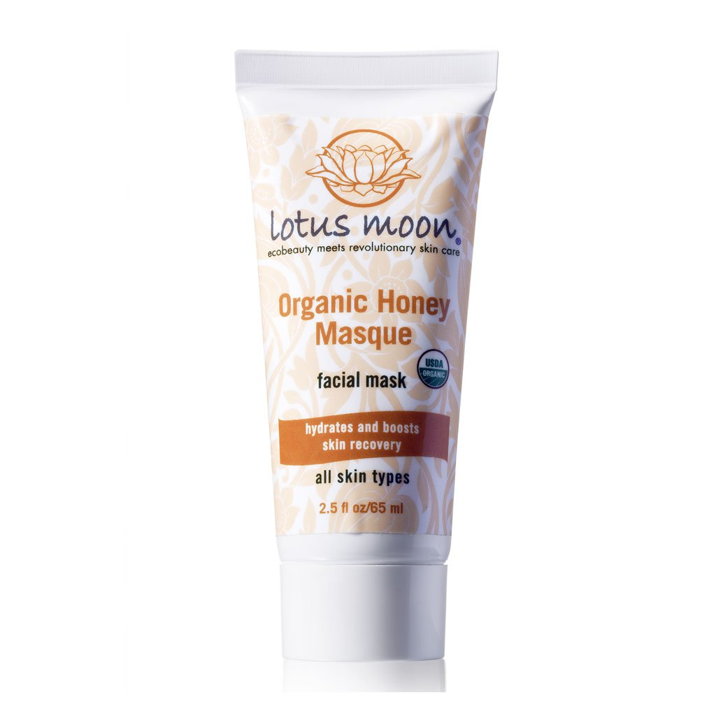 Lotus Moon Organic Honey Purifying Masque, Visibly Minimizes Pores Leaving Skin Soft and Hydrated While Reducing Fine Lines - Leaving Your Complexion Radiant and Beautiful