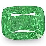 3.13-Carat Natural Emerald - 100% Unheated & Untreated, Mined in Zambia, Premium Loose Gemstone