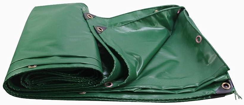 Cubierta Impermeable Para Lona Verde Con Arandelas, Cubierta Auto ...