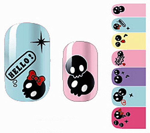 1 Pcs Alluring Popular Nails Art Wraps Stickers Decorations Decal Water Transfer Primer Decor Fashion Pattern NO.02