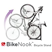 Bike Nook™, Bicycle Stand, The Brilliant New Way to Store your Bike Quickly and Easily!