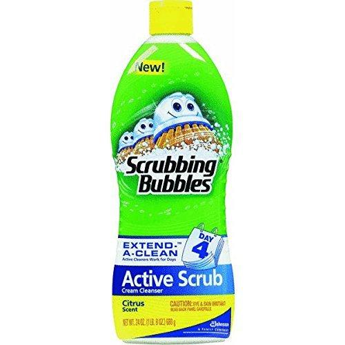 Scrubbing Bubbles Scrubbing Bubbles Active Scrub, Citrus, 24 Fluid Ounce (Through Tile Porcelain Body)