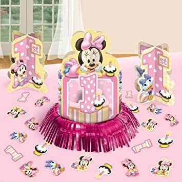 Amazon Disney Baby Minnie Mouse 1st Birthday Party Table