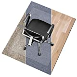 Office Marshal Polycarbonate Chair Mat for Medium Pile Carpet Floors, 36