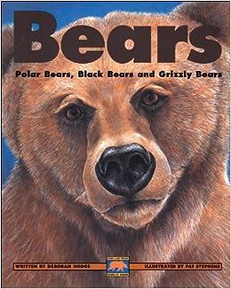 Book Bears: Polar Bears, Black Bears and Grizzly Bears (Kids Can Press Wildlife) by Deborah Hodge (1-Mar-1999)