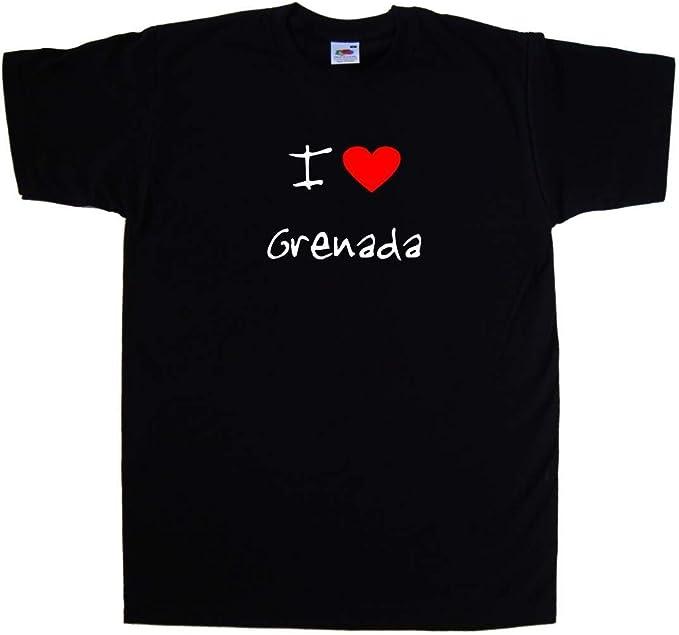 I Love Heart Grenada T-Shirt