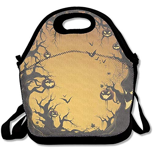 Happy Halloween Festival Lunch Box Tote Bag ()