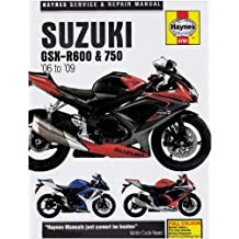 Suzuki GSX-R600 and 750 Service and Repair Manual: 2006 to 2008