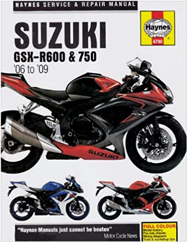 title suzuki gsx r600 and 750 service and repair manual 2006 to rh amazon com 2008 suzuki gsxr 1000 k8 owners manual 2008 suzuki gsxr 1000 owners manual pdf