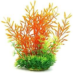 uxcell Fish Tank Decor Aqua Landscape Plant Ornament for Aquatic Pets Goldfish Betta